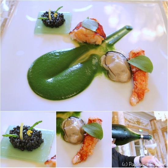 Homard bleu Breton et caviar d'Aquitaine