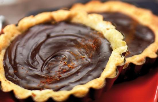 Tartelette chocolat piment d'Espelette
