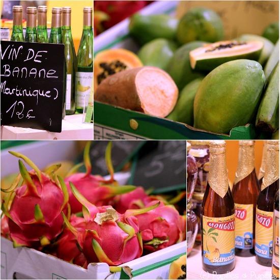 Vin de banane, papaye, pitaya et bière de banane