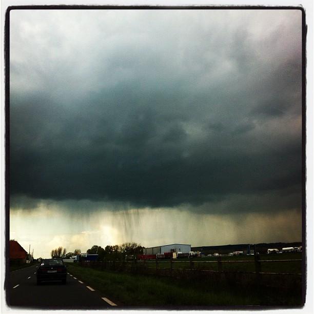 Genre il pleuvrait ...