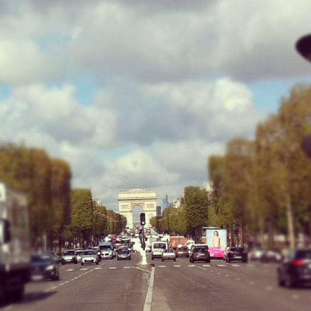 Champs Elysees #paris
