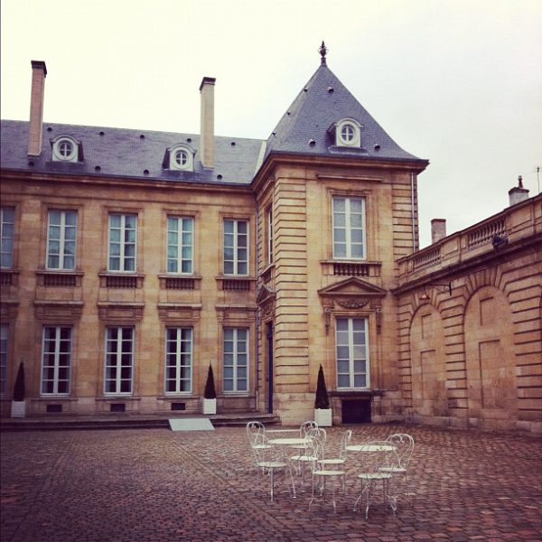 Cours du musée des arts décoratifs #Bordeaux