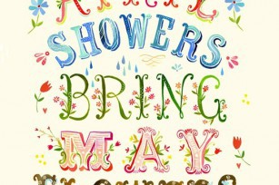 April Showers bring may flowers ©KatieDaisy