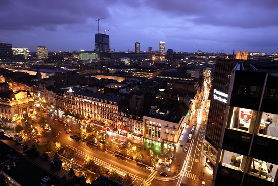 Bruxelles by night © Christophe Licoppe