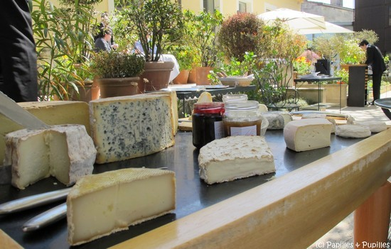 Plateau de fromages Saint James