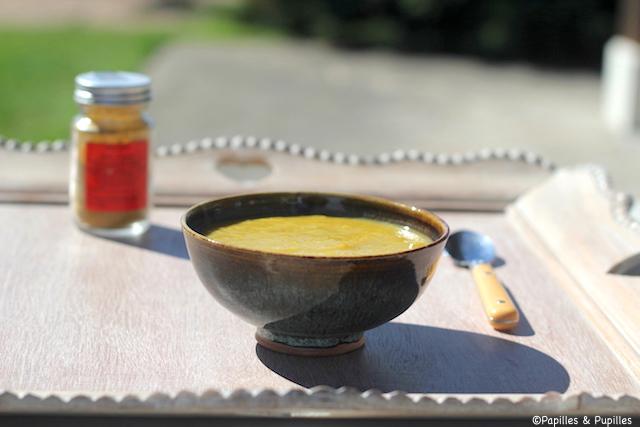 Soupe de légumes à la poudre des vertus