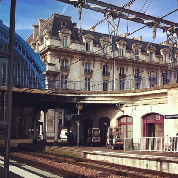 À demain Bordeaux ;) #TGV
