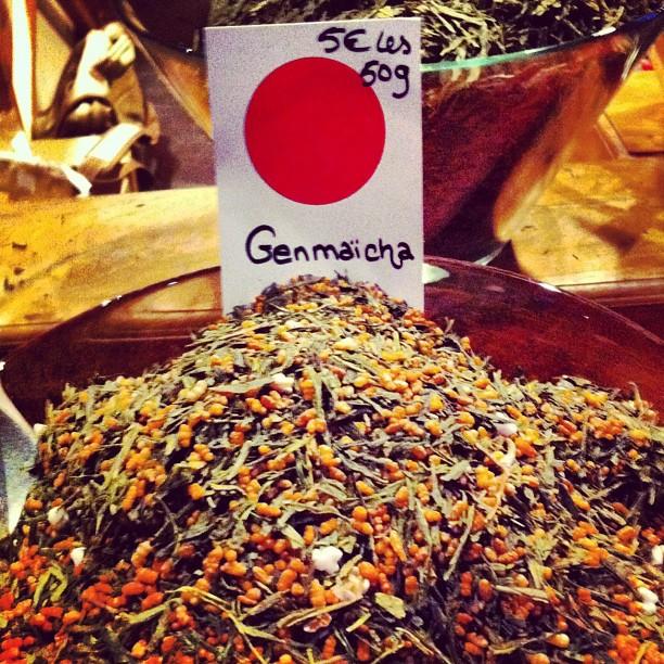 Genmaïcha - thé vert japonais au riz soufflé