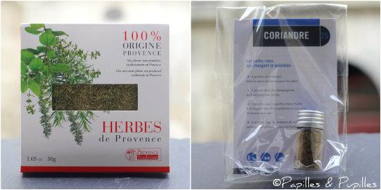 Herbes de Provence et Coriandre