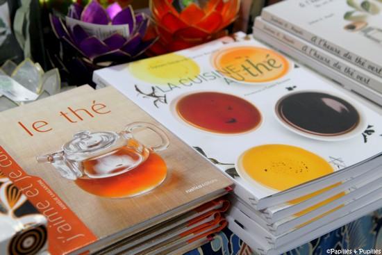 Livres sur la cuisine au thé