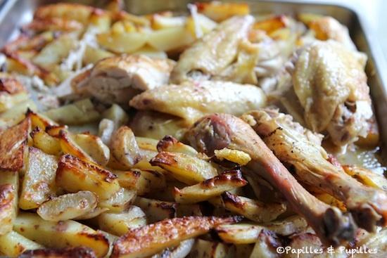 Poulet et pommes de terre