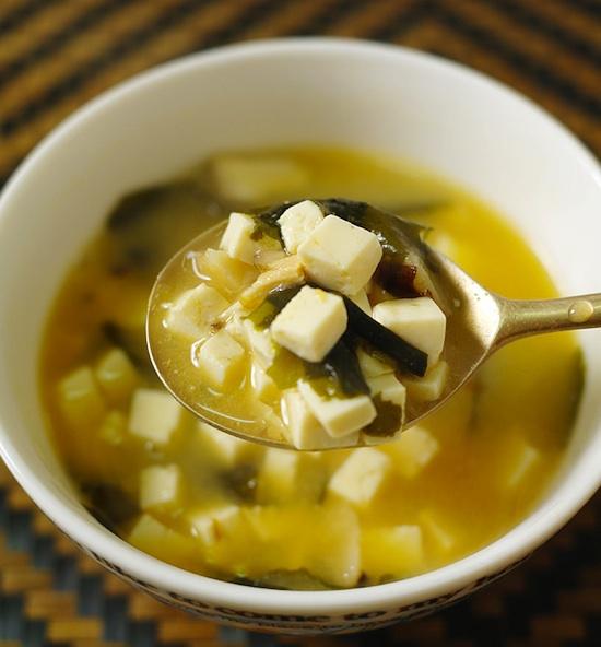 Recette de la soupe miso - Soupe miso ingredient ...