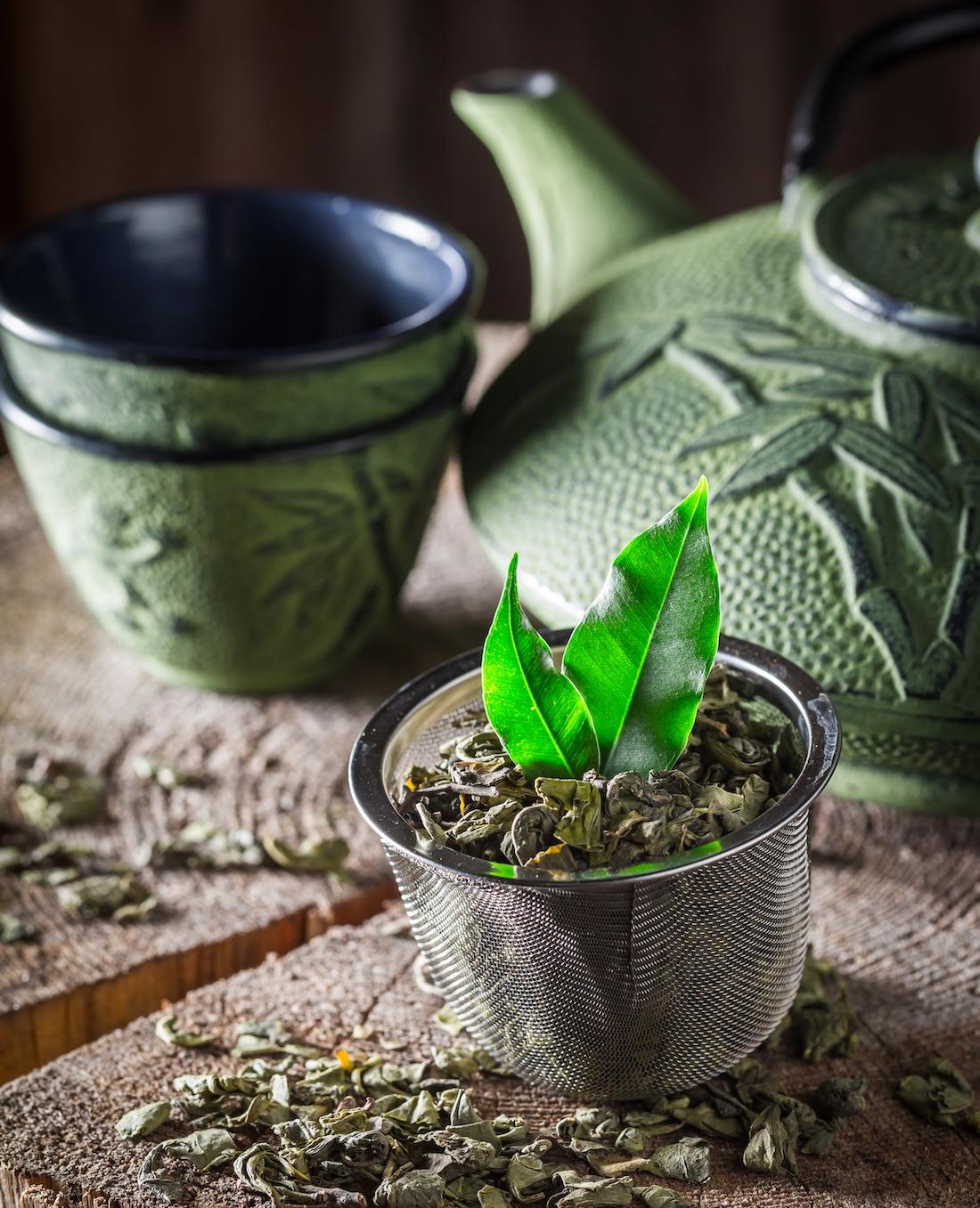 Thé vert japonais ©Shaiith shutterstock