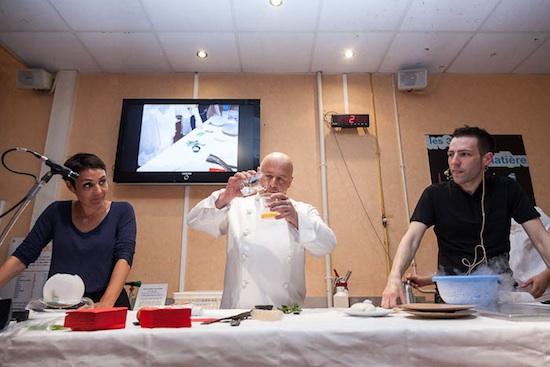 Cuisine moléculaire au Palais de la Découverte ©Arnaud Robin