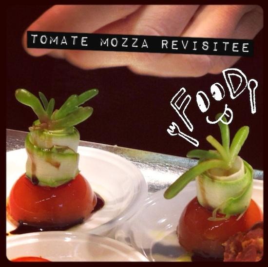 Tomate Mozza revisitée par F. Lafon