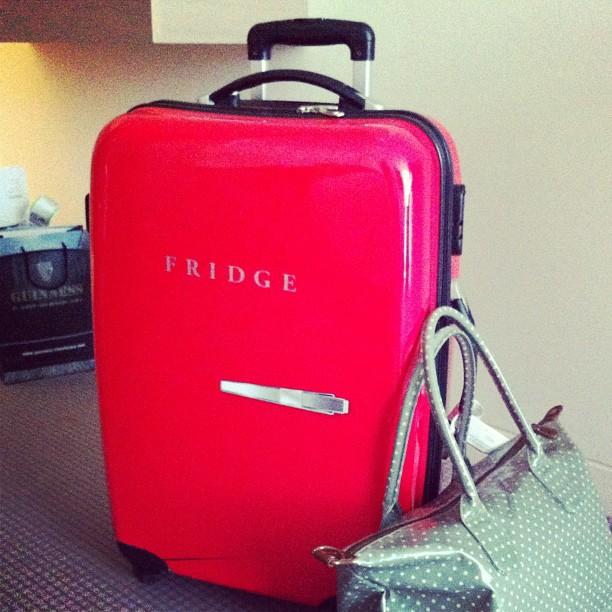 a une valise top discrète