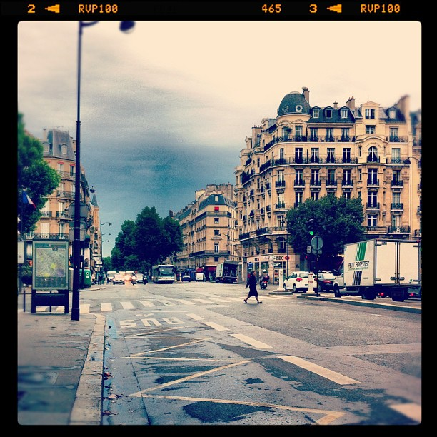 Temps maussade à #paris ce matin