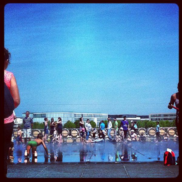 Miroir d'eau #bordeaux
