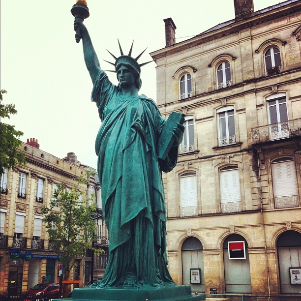New York ? Non - Miss Liberty #bordeaux - Chartrons