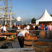 Fabrication de tonneau #bfv2012 #bordeaux