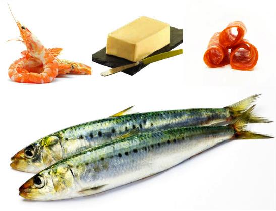 Beurre crevettes chorizo sardines
