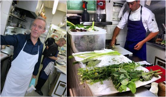 Dans les cuisines de l'Arpege - Photo Natacha QS et Thomas Clement