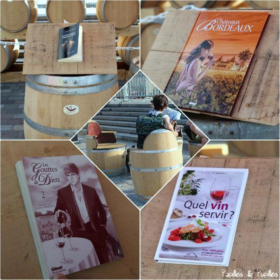Des livres et du vin