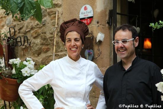 Dolors Puig et son mari