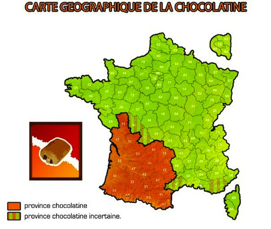 Chocolatines vs pains au chocolat