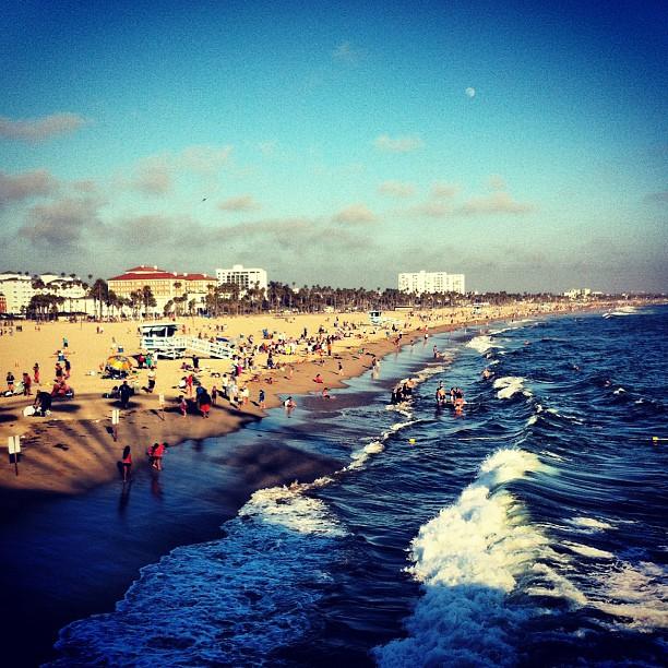 Santa Monica beach #losangeles