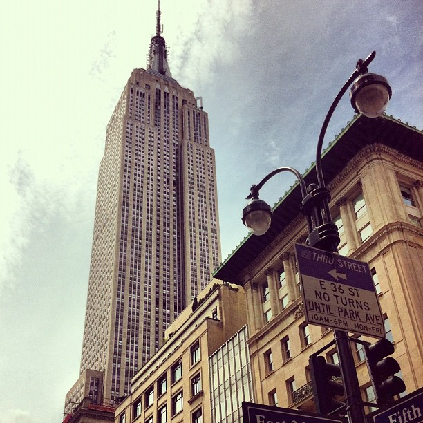 The Empire state Building #nyc #newyork