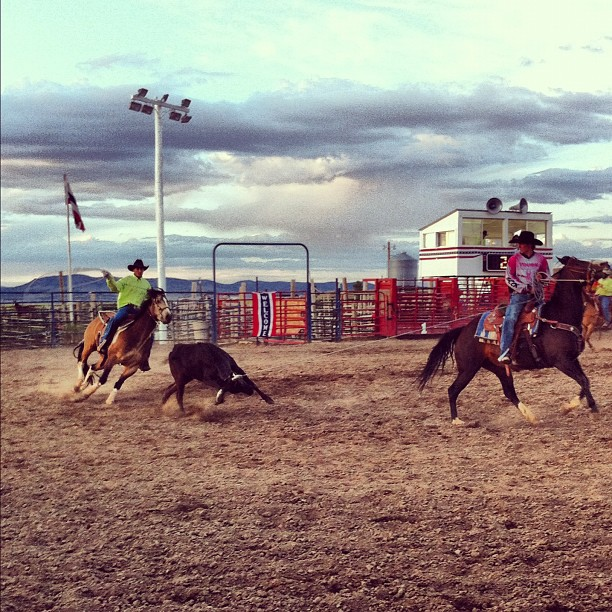 He did it ^_^ #rodeo #brycecanyon