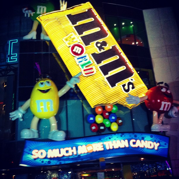 Boutique m&m's #lasvegas