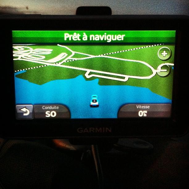 le GPS a de petits soucis #envoiture #PasEnBateau #lakePowell #Page
