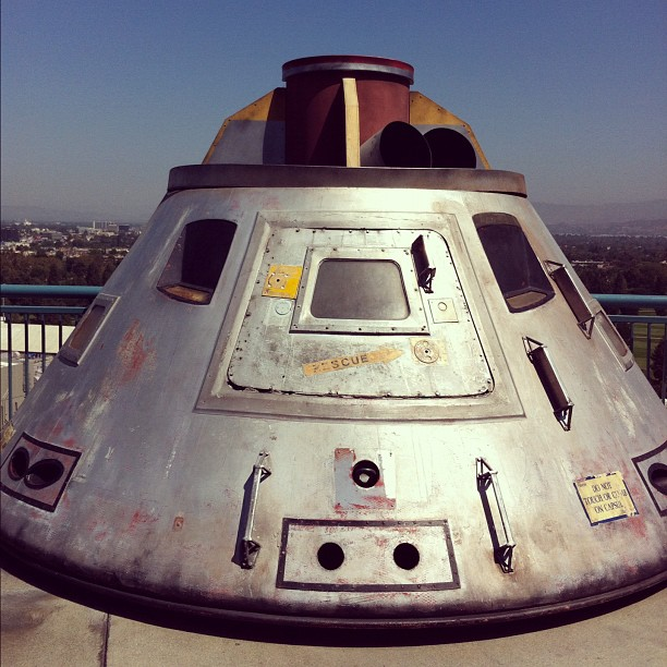 La capsule du film Apollo 13 #universalstudio #losangeles