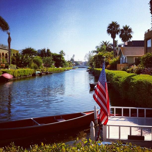 Les canaux de Venice #VeniceBeach