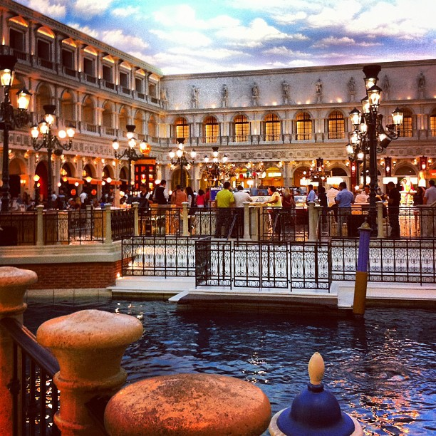 The Venetian #lasvegas - toujours en intérieur - AMAZING !!!