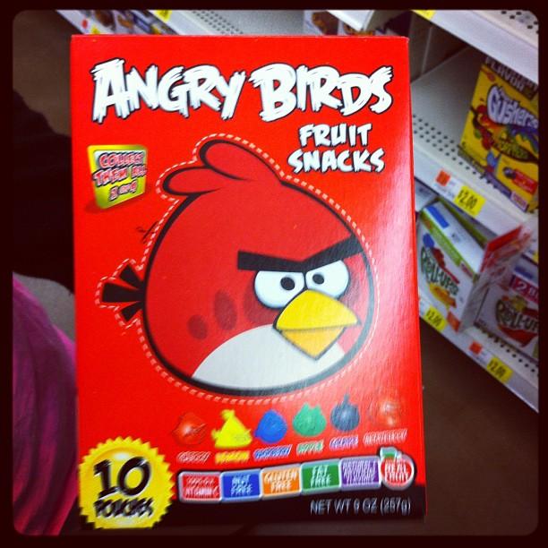 Céréales Angry Birds - vous en rêviez. Ils  l'ont fait !