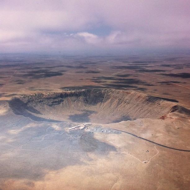 Meteor Crater #arizona