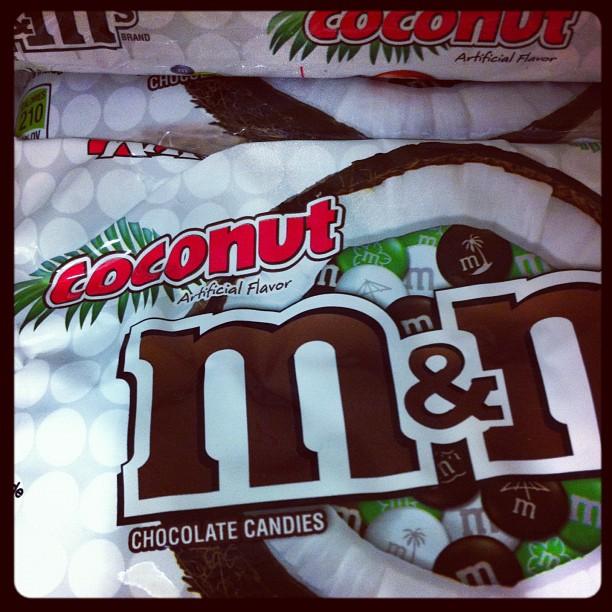 M&N's coconut
