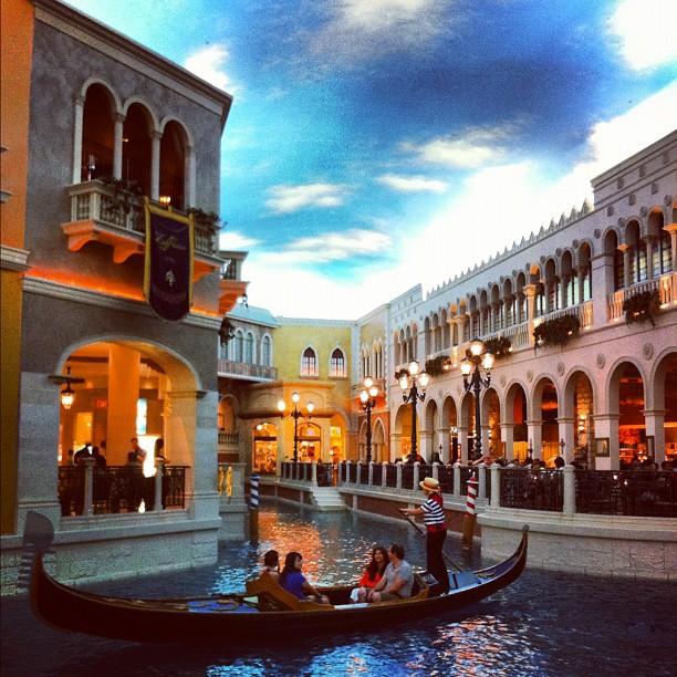 The Venetian #lasvegas - tout ceci est en intérieur ... Hallucinant