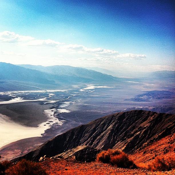 Dante's View #deathvalley