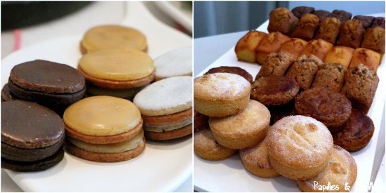 Biscuits, sablés et financiers