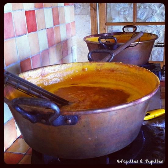 Confiture Abricot Sauternes - La grange aux confitures