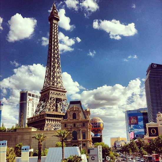 Paris ? Non, Las Vegas !