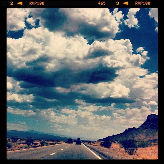 Sur la route - Arizona