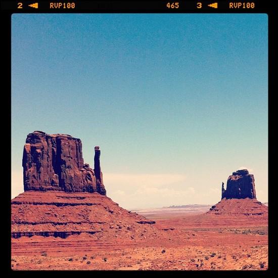 Sur les traces de John Wayne - Monument Valley