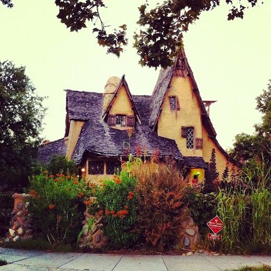 A trouvé la maison d'Hanzel et Gretel