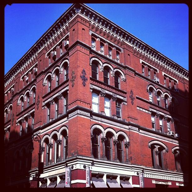 Broadway, angle Bond Street #newyork