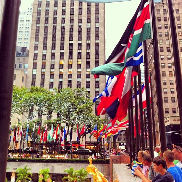 Rockefeller plaza #newyork